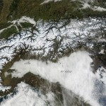 Space View of the Alps
