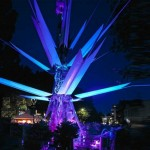 Urban Oasis- Giant Flower that Lights Up from Solar Pow...