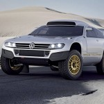 Volkswagen unveils Race Touareg 3 for the street