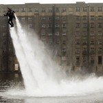 Water-Powered Jet Pack (video)