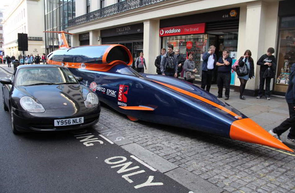 Image result for Bloodhound Supersonic car