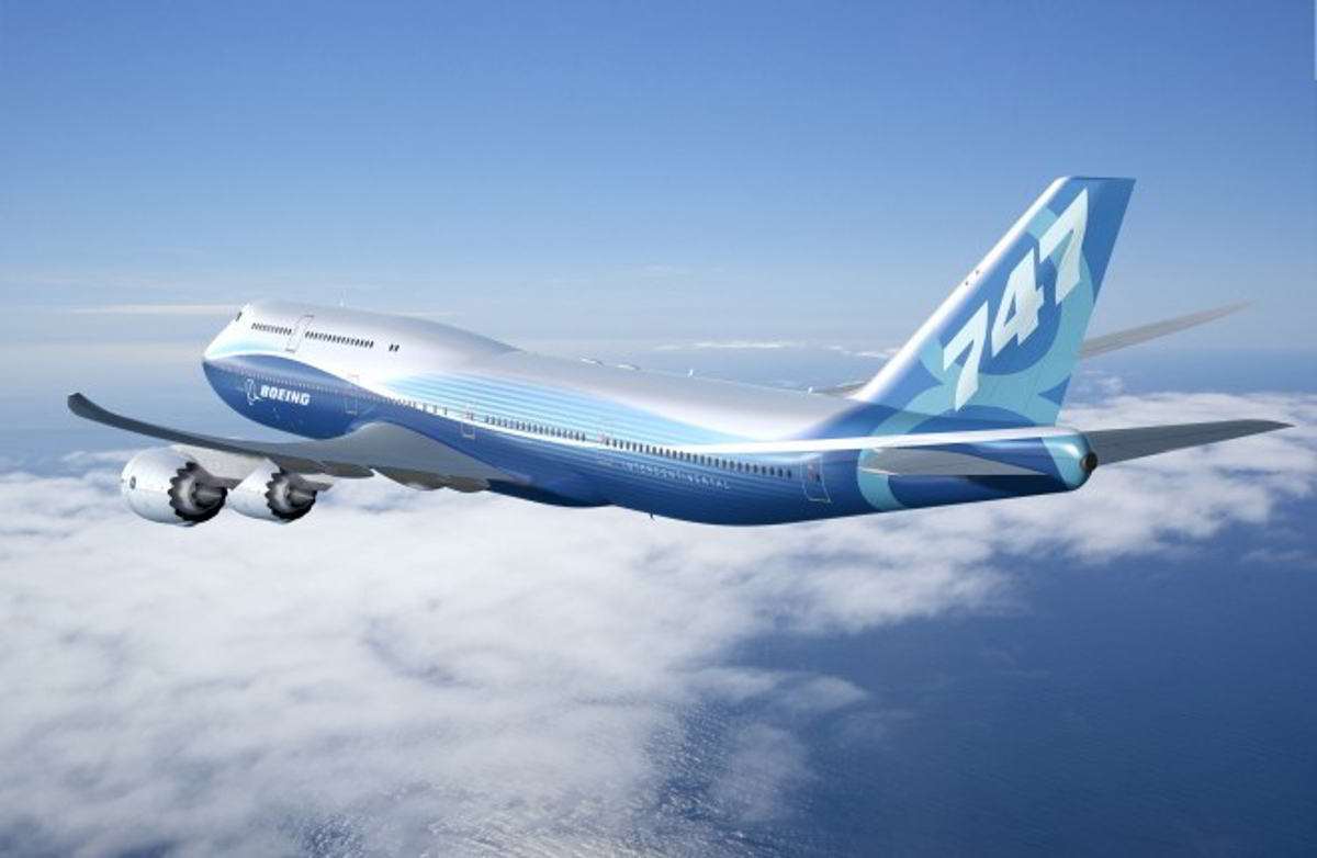 wordlessTech | Boeing's new 747-8 Intercontinental