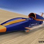 Construction begins on Bloodhound supersonic car