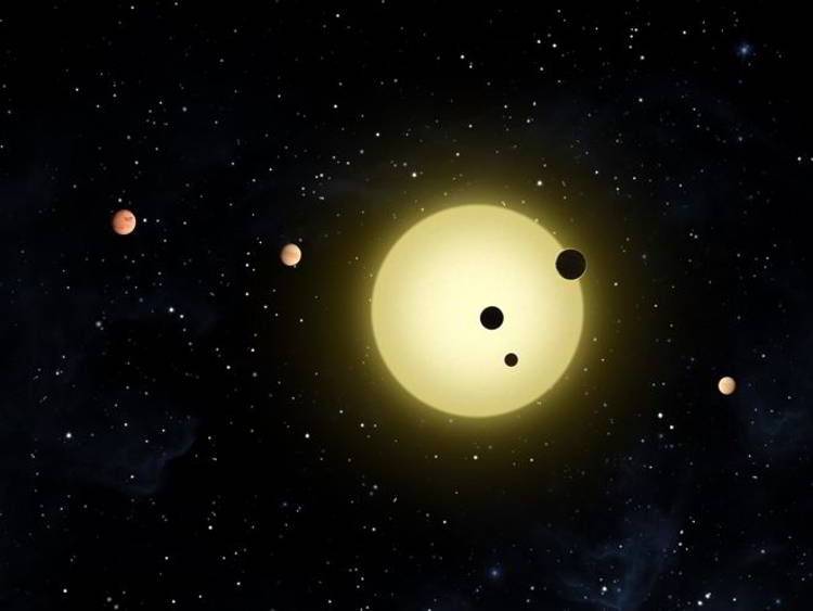 solar system with exoplanets - photo #17