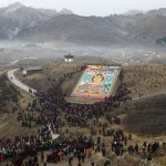 Giant Thangka unique to Tibet