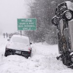 Gigantic snow storm across the United States