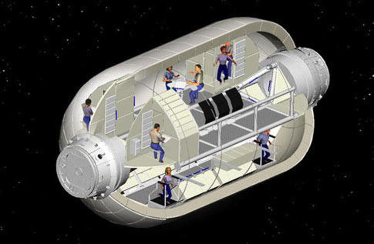 Inflatable module 2
