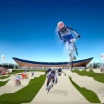 London 2012 Olympic velodrome complete