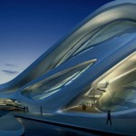 Performing arts centre for Abu Dhabi from Zaha Hadid