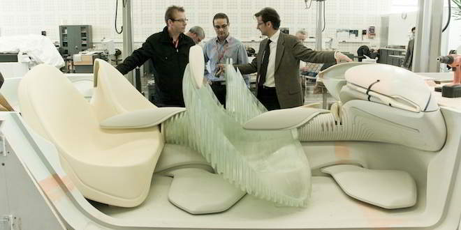 Printing cars in 3-D