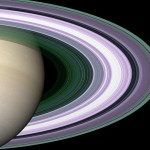 The beauty of Saturn rings