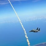 Space Shuttle Atlantis headed to space