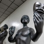 The Screen Actors Guild Awards statues