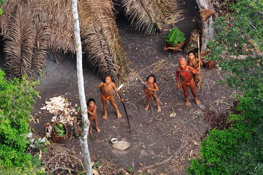 uncontacted Amazon tribe