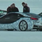 First video of BMW i8 hybrid sports car