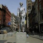 Andy Warhol monument unvieled