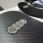 AUDI carbon ski handmade production