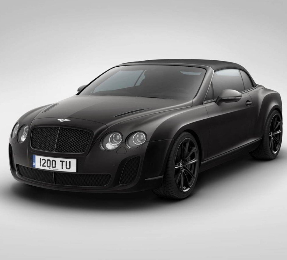 Wordlesstech Bentley Continental Supersports