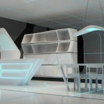 Corian TRON designs in Milan