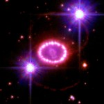 Cosmic Pearls from supernova SN1987A