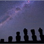 Crux and the Milky Way from Easter Island