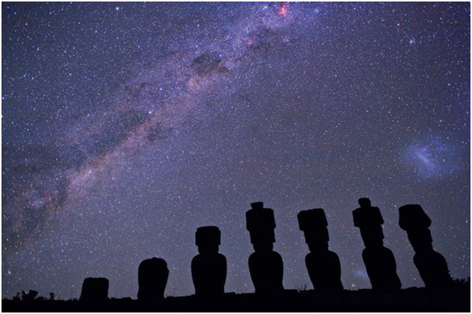 Crux and the Milky Way