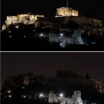 Earth hour- International blackout before and after