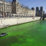 Green Seine river