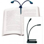 Hydra Two-Headed Book Lamp