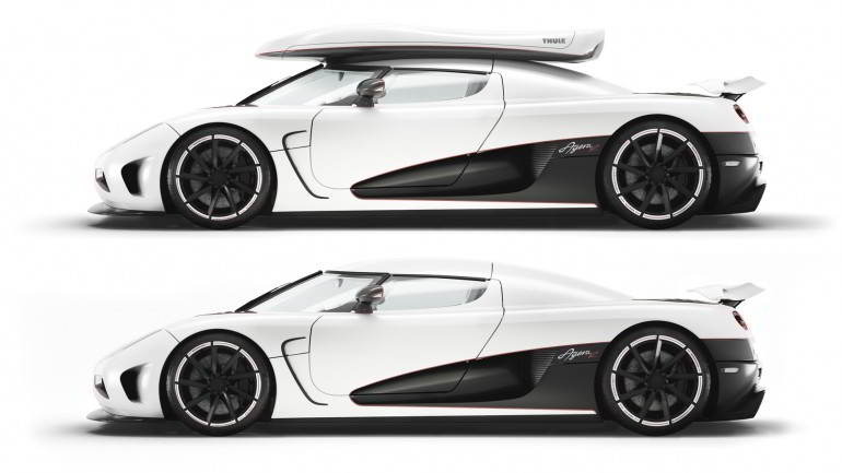 Koenigsegg Agera R with the worlds fastest roof box  wordlessTech