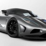 Koenigsegg Agera R with the world's fastest roof box