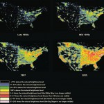 Map of Global light pollution