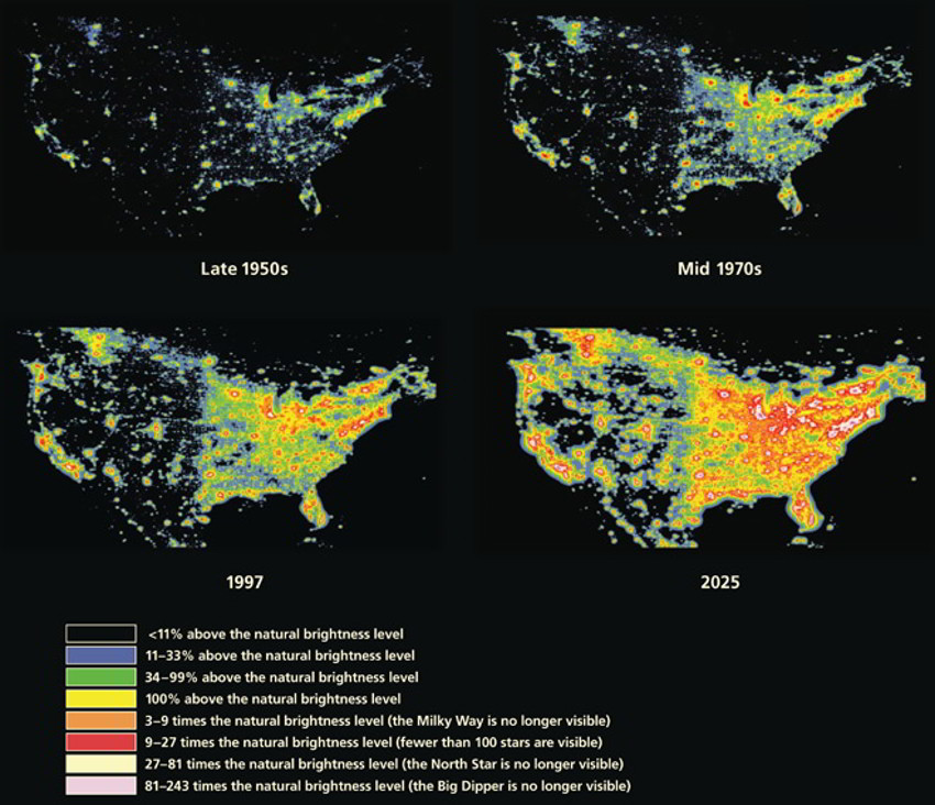 Global light pollution