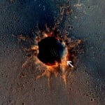 Mars Rover Opportunity in Santa Maria crater