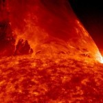 Monster prominence erupts from the Sun (video)