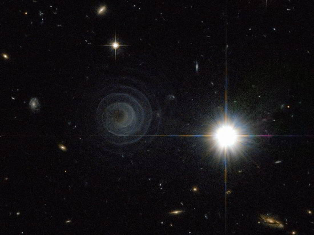 glowing spiral structure