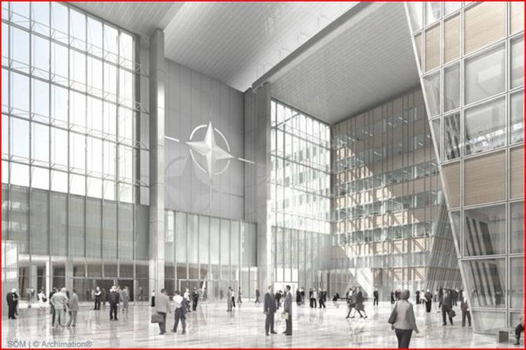 Nato Headquarters In Brussels Wordlesstech