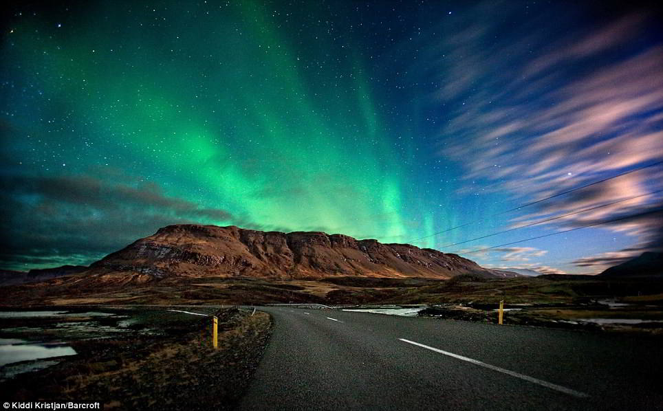 Great Northern Lights  Aurora Borealis In Iceland