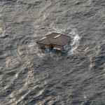 Pictures from Japan's disaster- floating house