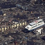 Pictures from Japan's disaster- pleasure boat