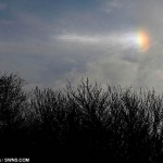 Sundog- very rare ice rainbow