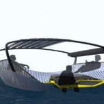The Float solar powered catamaran