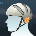 Blink bike helmet
