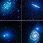 Collage of nearby galaxies