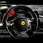 Ferrari 458 Italia- racing cockpit