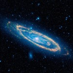 Immense Andromeda galaxy from WISE
