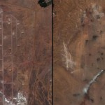 Libyan airport before and after