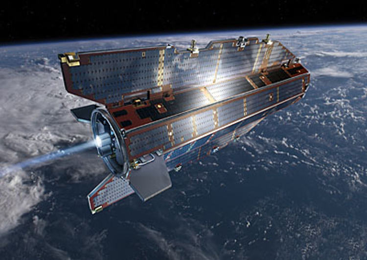 Russian weather satellite