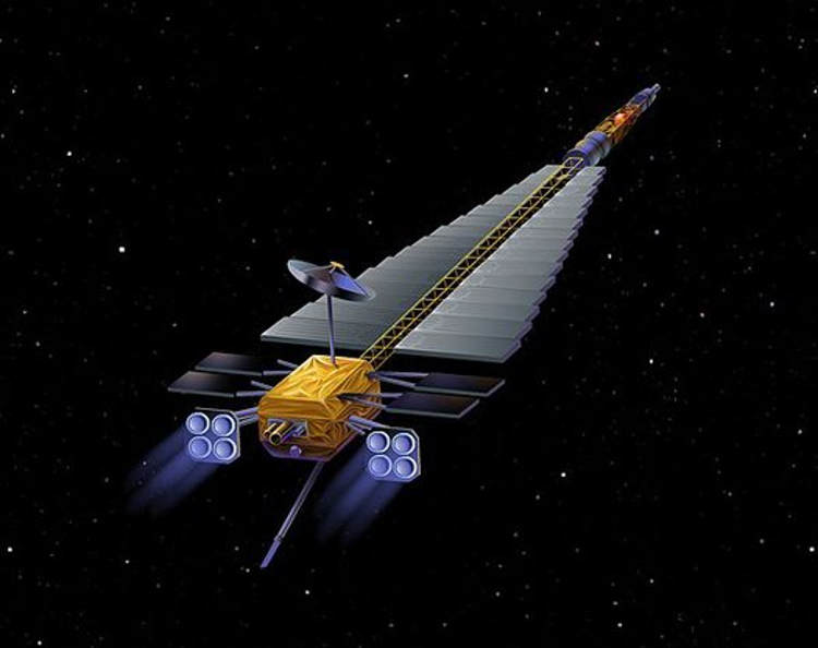 nuclear powered space probe -#main