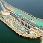 Sihwa Tidal Power Plant in Ansan near completion